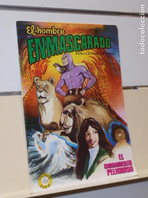 EL HOMBRE ENMASCARADO Nº 3 EL CARGAMENTO PELIGROSO - VALENCIANA (Tebeos y Comics - Valenciana - Colosos del Comic)