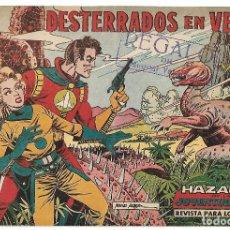 Tebeos: HAZAÑAS DE LA JUVENTUR AUDAZ - CINCO ORIGINALES. Lote 189636102
