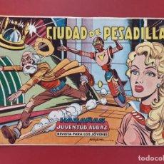Tebeos: HAZAÑAS DE LA JUVENTUD AUDAZ Nº 8 EXCELENTE ESTADO ORIGINAL. Lote 189674907