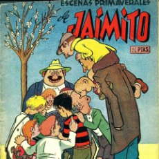 Tebeos: JAIMITO ESCENAS PRIMAVERALES (VALENCIANA, 1949) EXTRA JAIMITO-9. . Lote 190004645