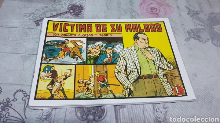 LOTE DE 10 CÓMIC DE ROBERTO ALCÁZAR Y PEDRIN (Tebeos y Comics - Valenciana - Roberto Alcázar y Pedrín)