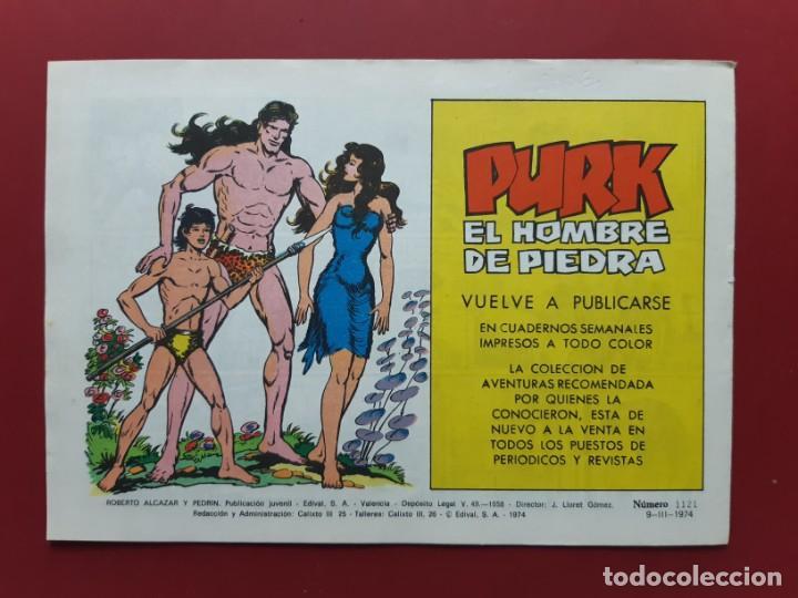 Tebeos: ROBERTO ALCAZAR Y PEDRIN Nº 1121 EXCELENTE ESTADO ORIGINAL VER FOTOS - Foto 2 - 190236851