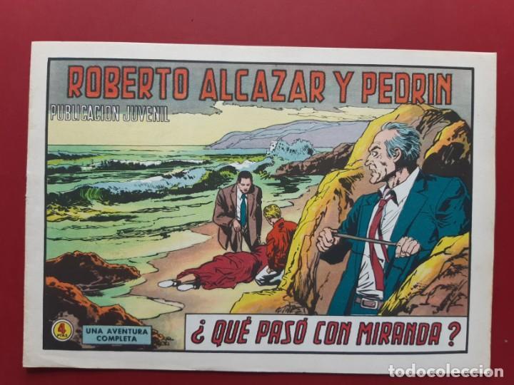 ROBERTO ALCAZAR Y PEDRIN Nº 1109 EXCELENTE ESTADO ORIGINAL VER FOTOS (Tebeos y Comics - Valenciana - Roberto Alcázar y Pedrín)