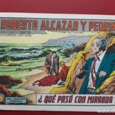 Tebeos: ROBERTO ALCAZAR Y PEDRIN Nº 1109 EXCELENTE ESTADO ORIGINAL VER FOTOS. Lote 190237052