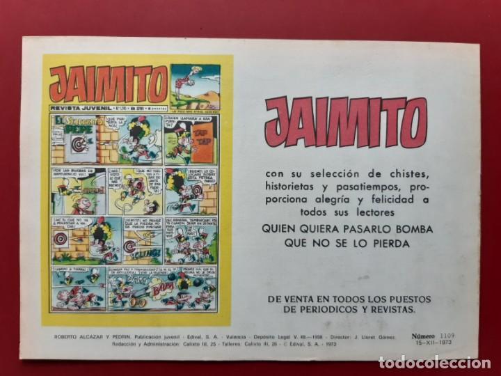 Tebeos: ROBERTO ALCAZAR Y PEDRIN Nº 1109 EXCELENTE ESTADO ORIGINAL VER FOTOS - Foto 2 - 190237052