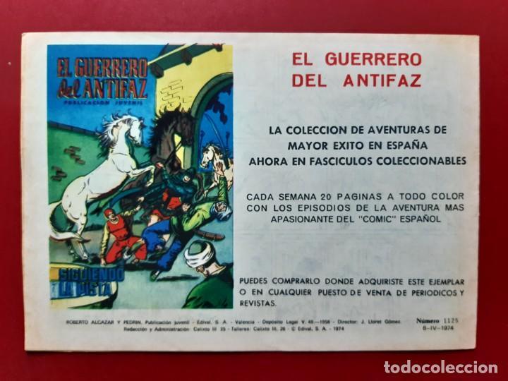 Tebeos: ROBERTO ALCAZAR Y PEDRIN Nº 1125 EXCELENTE ESTADO ORIGINAL VER FOTOS - Foto 2 - 190238213