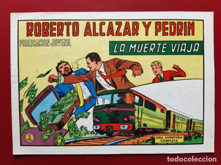 ROBERTO ALCAZAR Y PEDRIN Nº 1129 EXCELENTE ESTADO ORIGINAL VER FOTOS (Tebeos y Comics - Valenciana - Roberto Alcázar y Pedrín)