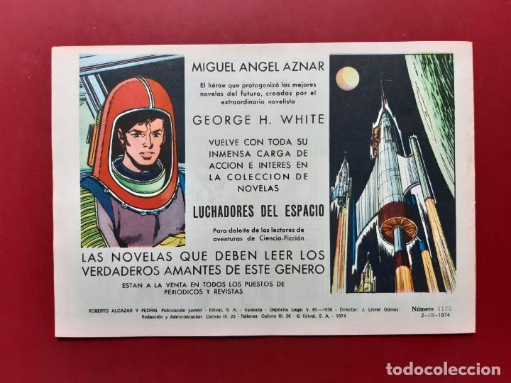 Tebeos: ROBERTO ALCAZAR Y PEDRIN Nº 1120 EXCELENTE ESTADO ORIGINAL VER FOTOS - Foto 2 - 190239343