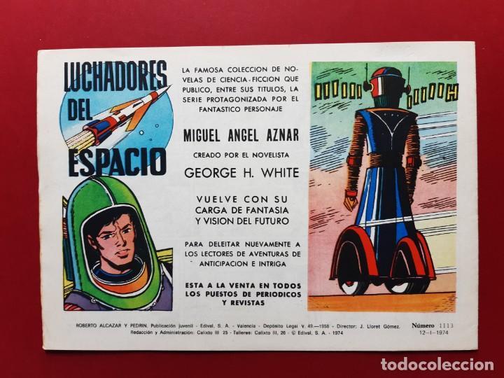 Tebeos: ROBERTO ALCAZAR Y PEDRIN Nº 1113 EXCELENTE ESTADO ORIGINAL VER FOTOS - Foto 2 - 190239450