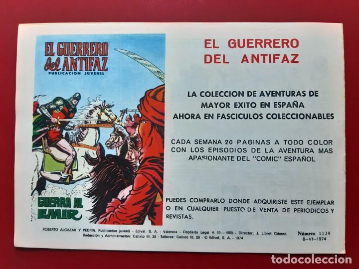 Tebeos: ROBERTO ALCAZAR Y PEDRIN Nº 1134 EXCELENTE ESTADO ORIGINAL VER FOTOS - Foto 2 - 190240621