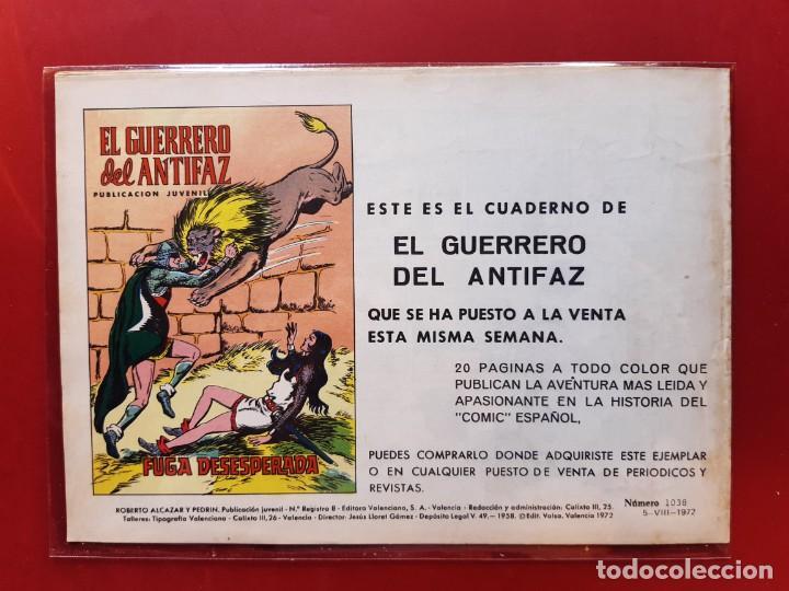 Tebeos: ROBERTO ALCAZAR Y PEDRIN Nº 1038 EXCELENTE ESTADO VER FOTOS - Foto 2 - 190369228
