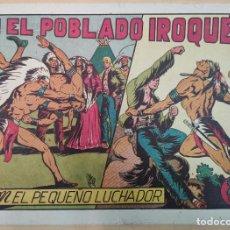 Tebeos: EL PEQUEÑO LUCHADOR. EN EL POBLADO IROQUES. Nº48. EDITORIAL VALENCIANA. Lote 190454155