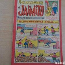 Tebeos: SELECCIONES DE JAIMITO Nº 43 AÑO IV. 33 PÁGINAS. CON GUILLERMO TELL. EDITA VALENCIANA. BUEN ESTADO. Lote 190620118