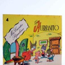 Tebeos: MIS CUENTOS POPULARES 4. EL HUERFANITO (LICERAS / TORTAJADA) VALENCIANA, 1983. OFRT. Lote 190843187