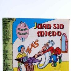 Tebeos: CUENTOS CLÁSICOS 1. JUAN SIN MIEDO (LICERAS) VALENCIANA, 1983. OFRT. Lote 190843195