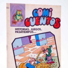 Tebeos: COMI CUENTOS 2. HISTORIAS, JUEGOS, PASATIEMPOS (ROJAS DE LA CÁMARA) VALENCIANA, 1984. OFRT. Lote 190843197