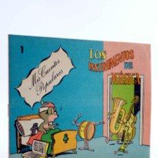 Tebeos: MIS CUENTOS POPULARES 1. LOS INSTRUMENTOS DE MÚSICA (LICERAS / TORTAJADA) VALENCIANA, 1983. OFRT. Lote 190843203