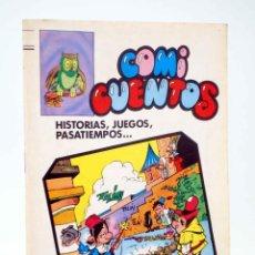 Tebeos: COMI CUENTOS 1. HISTORIAS, JUEGOS, PASATIEMPOS (ROJAS DE LA CÁMARA) VALENCIANA, 1984. OFRT. Lote 190843208