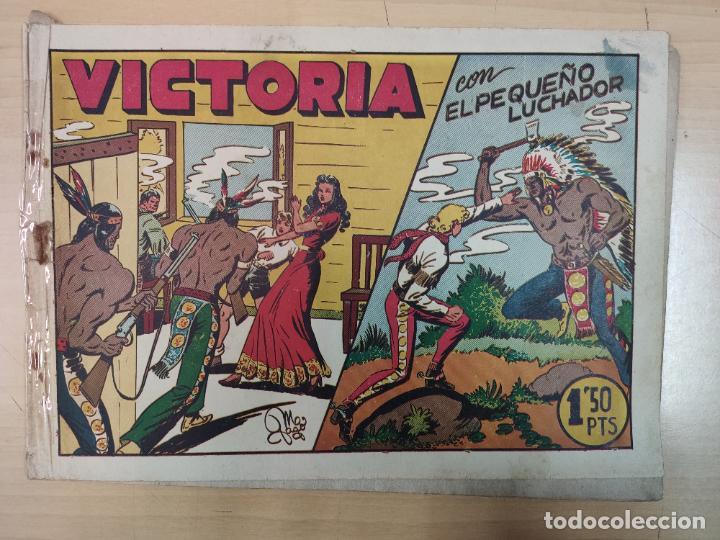 VICTORIA CON EL PEQUEÑO LUCHADOR, Nº 33 (Tebeos y Comics - Valenciana - Pequeño Luchador)