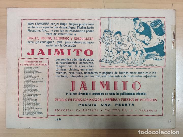 Tebeos: LA JUGADA DE TORO ORGULLOSO CON EL PEQUEÑO LUCHADOR, Nº 36 - Foto 3 - 191099181