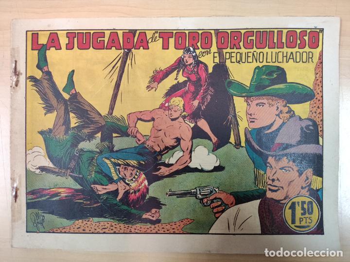 LA JUGADA DE TORO ORGULLOSO CON EL PEQUEÑO LUCHADOR, Nº 36 (Tebeos y Comics - Valenciana - Pequeño Luchador)