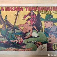 Tebeos: LA JUGADA DE TORO ORGULLOSO CON EL PEQUEÑO LUCHADOR, Nº 36. Lote 191099181