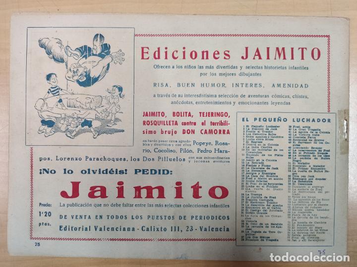 Tebeos: LA DEFENSA DEL FUERTE CON EL PEQUEÑO LUCHADOR, Nº 75 - Foto 3 - 191099636