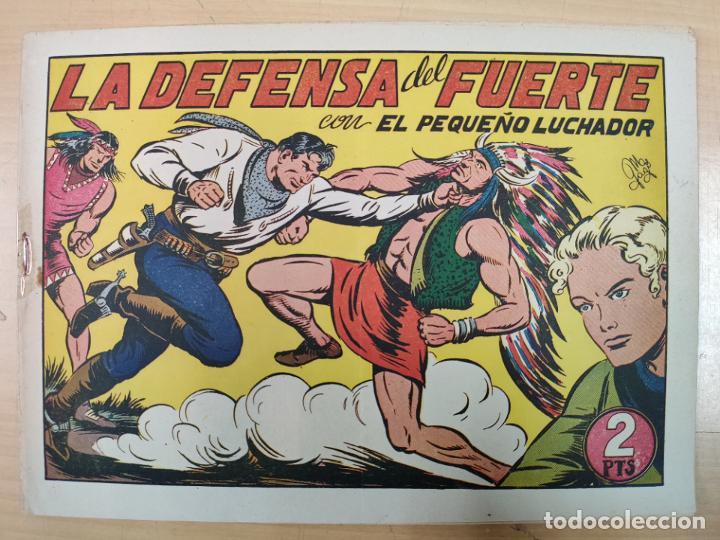LA DEFENSA DEL FUERTE CON EL PEQUEÑO LUCHADOR, Nº 75 (Tebeos y Comics - Valenciana - Pequeño Luchador)