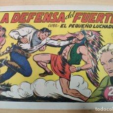 Tebeos: LA DEFENSA DEL FUERTE CON EL PEQUEÑO LUCHADOR, Nº 75. Lote 191099636