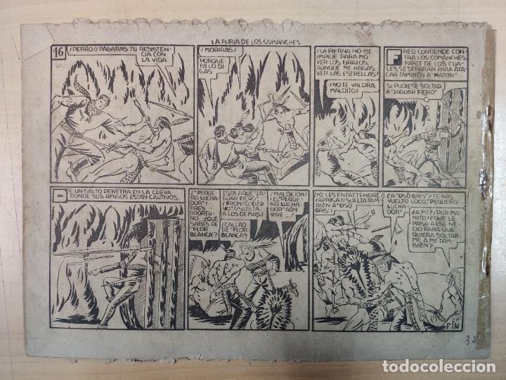 Tebeos: LA FURIA DE LOS COMANCHES CON EL PEQUEÑO LUCHADOR, Nº 32 - Foto 3 - 191100230