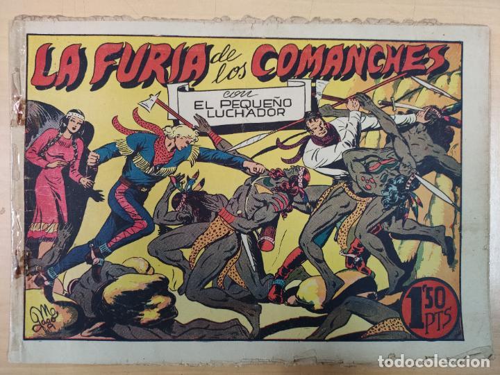 LA FURIA DE LOS COMANCHES CON EL PEQUEÑO LUCHADOR, Nº 32 (Tebeos y Comics - Valenciana - Pequeño Luchador)