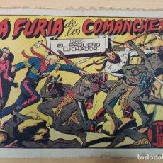Tebeos: LA FURIA DE LOS COMANCHES CON EL PEQUEÑO LUCHADOR, Nº 32. Lote 191100230