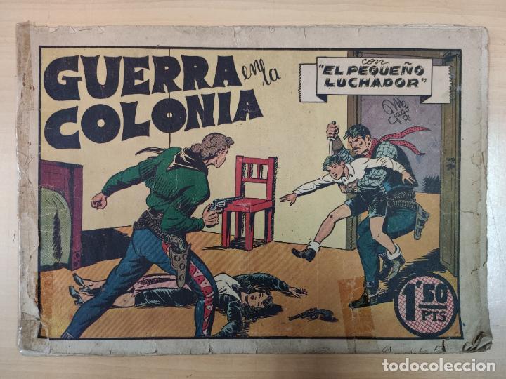 GUERRA EN LA COLONIA CON EL PEQUEÑO LUCHADOR, Nº 8 (Tebeos y Comics - Valenciana - Pequeño Luchador)
