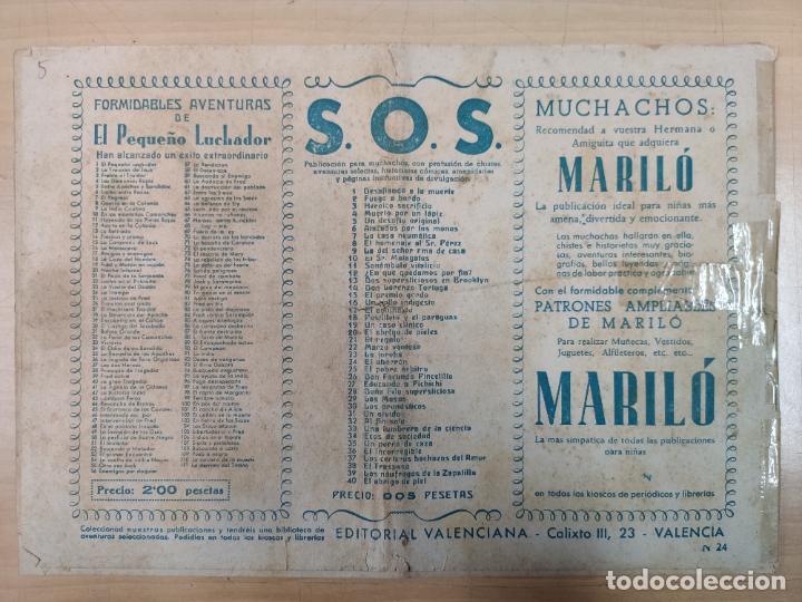 Tebeos: LA TRAMPA CON EL PEQUEÑO LUCHADOR, Nº 24 - Foto 3 - 191100550