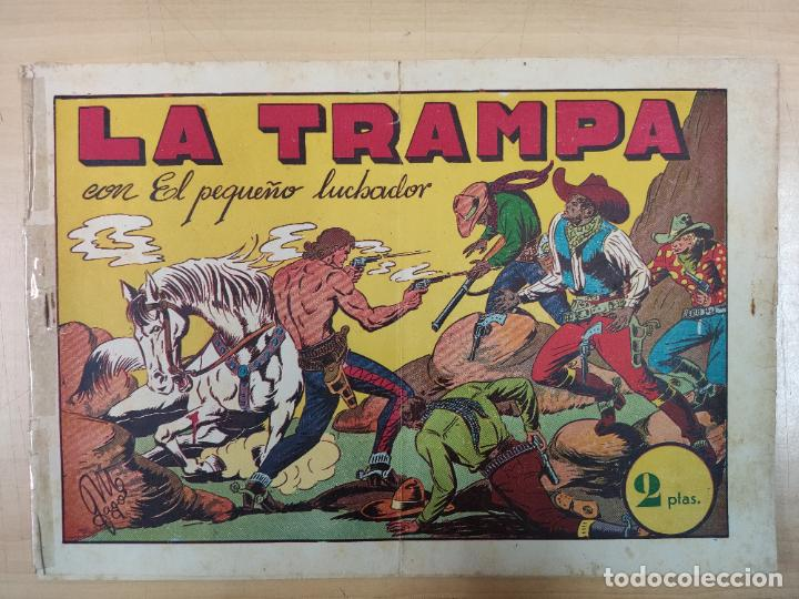 LA TRAMPA CON EL PEQUEÑO LUCHADOR, Nº 24 (Tebeos y Comics - Valenciana - Pequeño Luchador)
