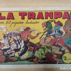 Tebeos: LA TRAMPA CON EL PEQUEÑO LUCHADOR, Nº 24. Lote 191100550