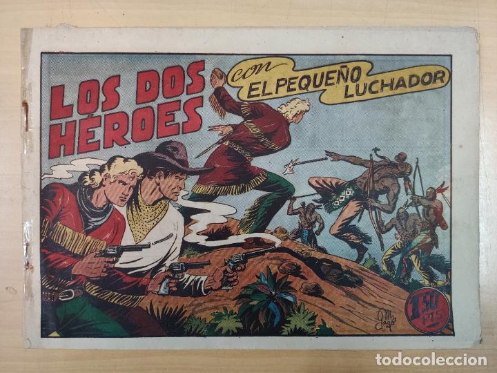 LOS DOS HÉROES CON EL PEQUEÑO LUCHADOR, Nº 37 (Tebeos y Comics - Valenciana - Pequeño Luchador)