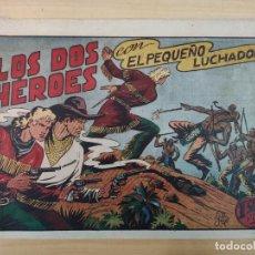 Tebeos: LOS DOS HÉROES CON EL PEQUEÑO LUCHADOR, Nº 37. Lote 191100757