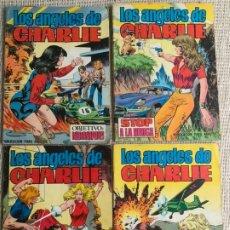 Tebeos: LOS ANGELES DE CHARLIE, COLECCIÓN COMPLETA 4 EJEMPLARES., ED. -VALENCIANA. Lote 191145320