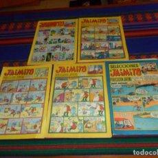 Tebeos: SELECCIONES DE JAIMITO NºS 29 189 Y JAIMITO NºS 1129 1189 1241 1488. EDITORIAL VALENCIANA.. Lote 150707878