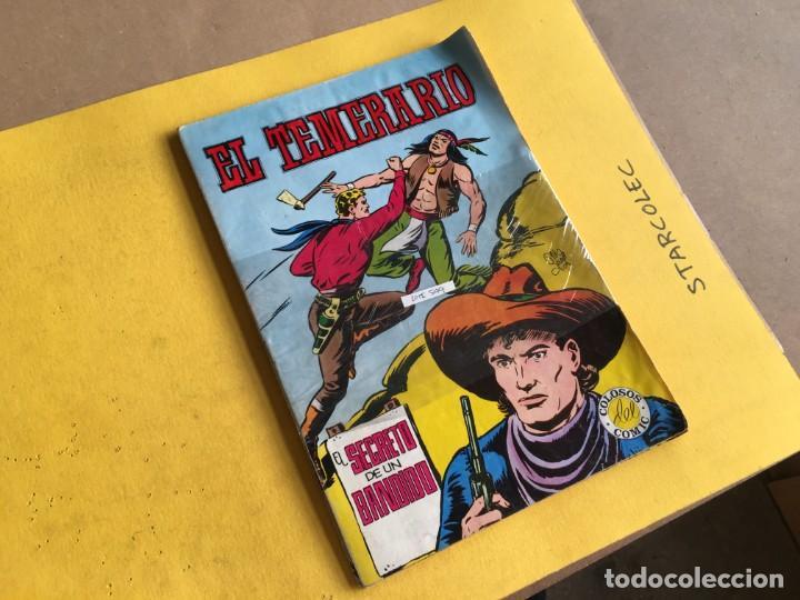 EL TEMERARIO COLOSOS DEL COMIC. LOTE DE 2 NUMEROS (VER DESCRIPCION) EDITORIAL VALENCIANA AÑO 1981 (Tebeos y Comics - Valenciana - Otros)