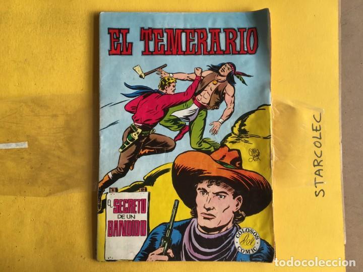 Tebeos: EL TEMERARIO COLOSOS DEL COMIC. LOTE DE 2 NUMEROS (VER DESCRIPCION) EDITORIAL VALENCIANA AÑO 1981 - Foto 2 - 191578603