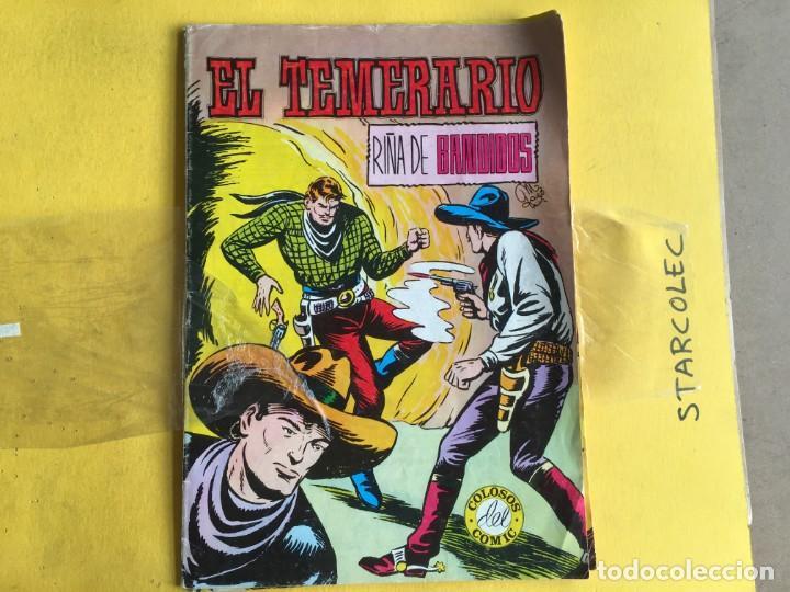 Tebeos: EL TEMERARIO COLOSOS DEL COMIC. LOTE DE 2 NUMEROS (VER DESCRIPCION) EDITORIAL VALENCIANA AÑO 1981 - Foto 3 - 191578603