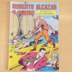 Tebeos: ROBERTO ALCAZAR Y PEDRIN - SVIMTUS EN LONDRES. VALENCIANA. NUM 7. Lote 191584600