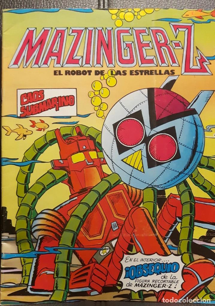 MAZINGER Z EL ROBOT DE LAS ESTRELLAS - NUMERO 5 - EDITORIAL VALENCIANA - NO CORREOS - MAZINGUER (Tebeos y Comics - Valenciana - Otros)