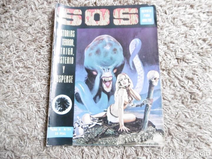 COMIC SOS Nº26 FEBRERO 1976 EDIVAL VALENCIANA (Tebeos y Comics - Valenciana - S.O.S)