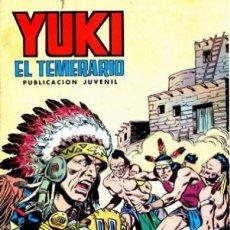 Tebeos: YUKI EL TEMERARIO-SELECCIÓN AVENTURERA-Nº 7 -LA VENGANZA DE TORO BRAVO-GRAN F.AMORÓS-1976-BUENO-2977. Lote 191987053