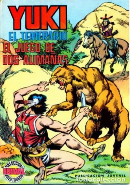 YUKI EL TEMERARIO-SELECCIÓN AVENTURERA- Nº 9 -EL JUEGO DE DOS ALIMAÑAS-1976-GRAN F.AMORÓS-BUENO-2979 (Tebeos y Comics - Valenciana - Selección Aventurera)