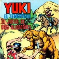Tebeos: YUKI EL TEMERARIO-SELECCIÓN AVENTURERA- Nº 9 -EL JUEGO DE DOS ALIMAÑAS-1976-GRAN F.AMORÓS-BUENO-2979. Lote 191988338
