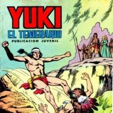 Tebeos: YUKI EL TEMERARIO-SELECCIÓN AVENTURERA- Nº 11 -ACCIÓN DECISIVA-1976-GRAN F.AMORÓS-BUENO-2980. Lote 191988677